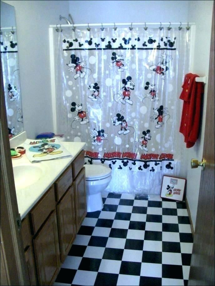 Sparkling Mickey Mouse Bathroom Rug Images Ideas Mickey Mouse