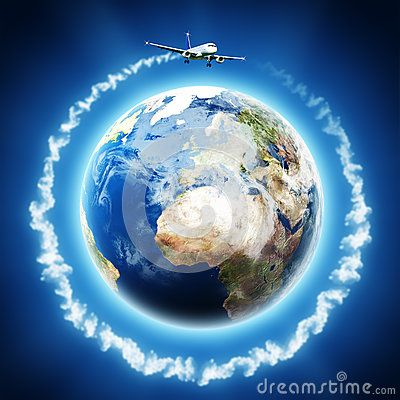 Transport and Travelling backgrounds for your design. EARTH IS 3D RENDERED IMAGE