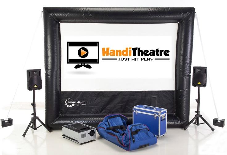 HandiTheatre Home do it yourself outdoor cinema Package