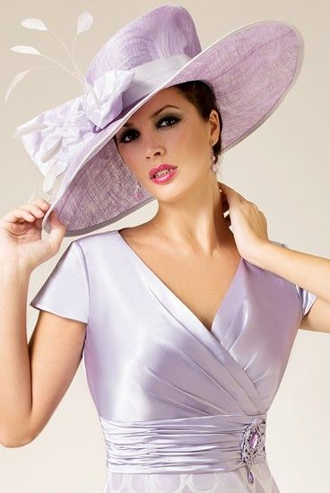 Mother Of The Bride Kalap Hats Fashion Beautiful Lilac Lavender