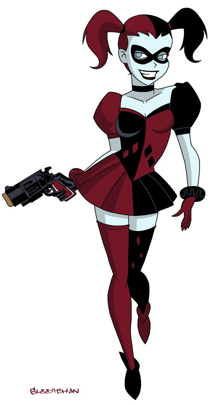 DCAU: Harley Quinn by Glee-chan