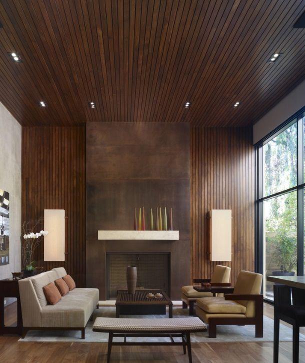 Modern Fireplace.