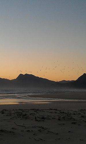 Towards Kleinmond - photo taken at Flamingo Lake, Fisherhaven, Western Cape, South Africa.