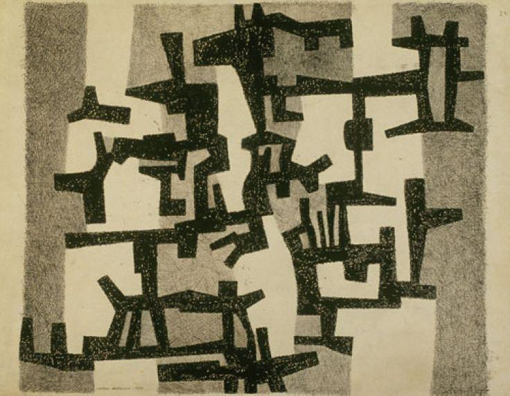 Jive Samba, 1955 by George Morrison