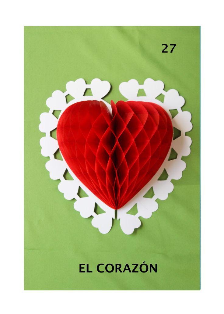 3D El Corazon LOTERIA MEXICANA by Alexa Torre