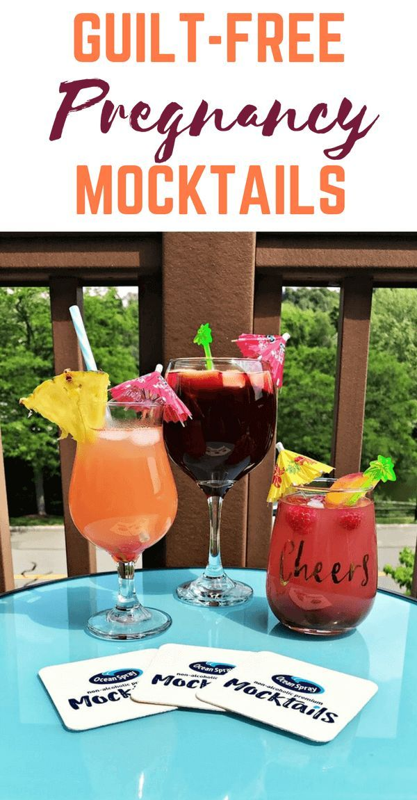 Pregnant this summer?! Why not kick up those (swollen) feet and relax while enjoying a delicious and refreshing non-alcoholic cocktail!