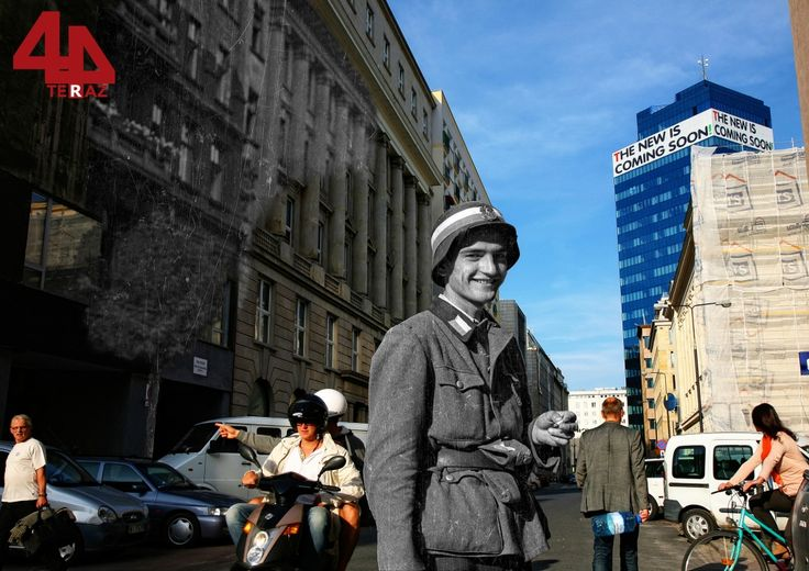 Corner of Moniuszki and Marszałkowska - Then And Now Photos Of Warsaw That Bring History To Life  Best of Web Shrine