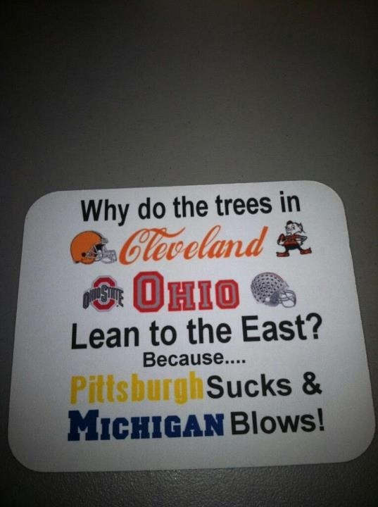 Cleveland browns/Ohio state