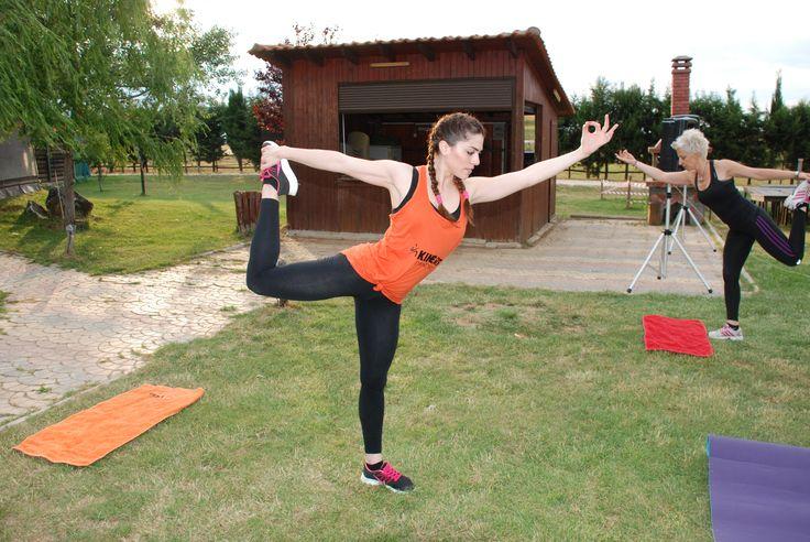 Outdoor training Bike, Zumba & Bodybalance   Γυμναστήριο Kinesis