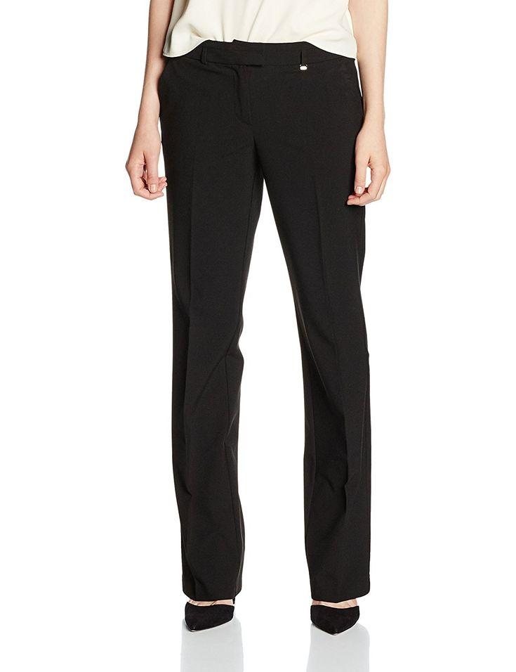 Shoppen Sie ESPRIT Damen Hose 996EE1B903 Schwarz (Black 001), W34/L32 auf Amazon.de:Hosen