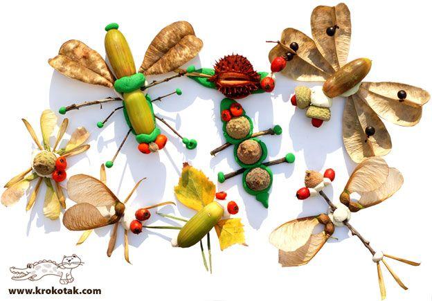 777 Inspiracions: INSECTES MOLT NATURALS! - Insectos muy naturales!