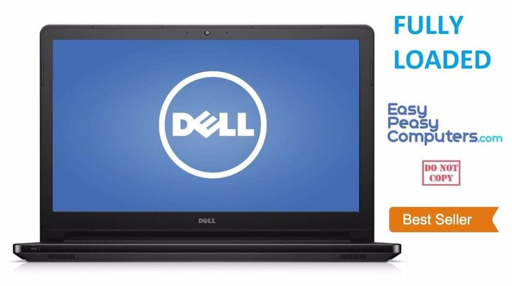 NEW FAST DELL Laptop Computer 17.3 Windows 10 4GB 500GB Webcam (FULLY LOADED) #Dell