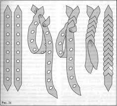 Картинки по запросу плетение из обрезков кожи