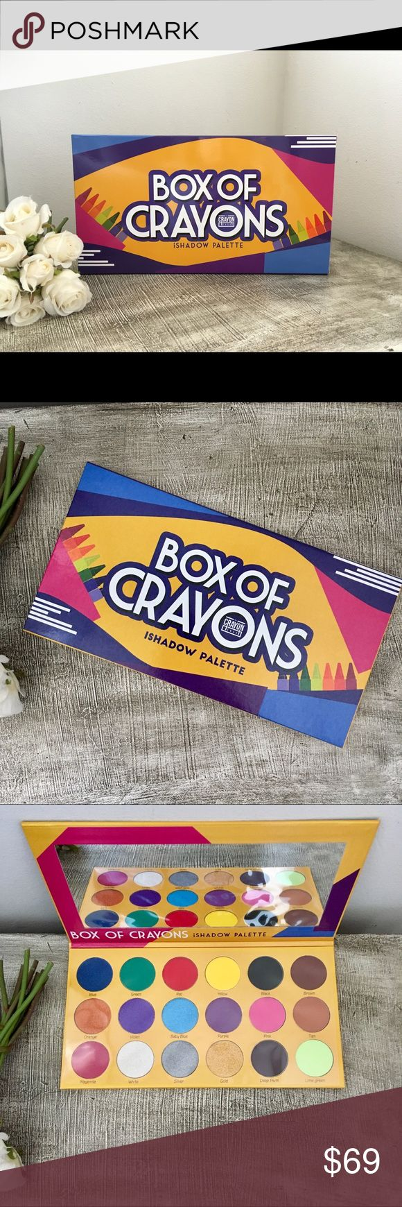 The Crayon Case Box of Crayons Eyeshadow Crayon, Case