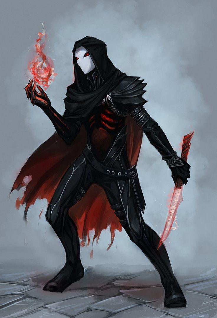 Puede ser tipo un mago-asesino super flashero asi teletransportandose y eso