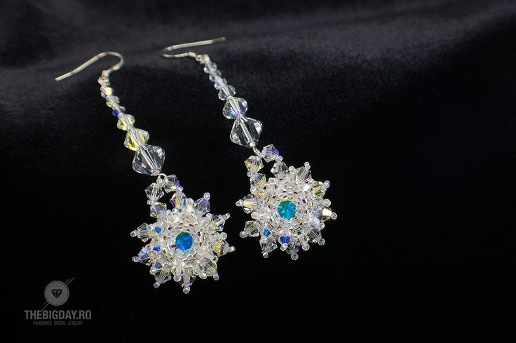 The Big Day | #1-0032 Cercei Swarovski Falling Stars http://thebigday.ro/ #Swarovski #swarovskijewelry #jewelry #handmadejewelry #wedding #mireasa #bijuterii #cristale #bijuteriimireasa #nunta