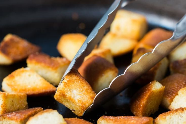 (Image credit: Jeff Roffman)   Homemade croutons are an unsung kitchen hero. Made from stale bread and requiring a little bit of effort, croutons liven up salads and soups and can be quickly turned in