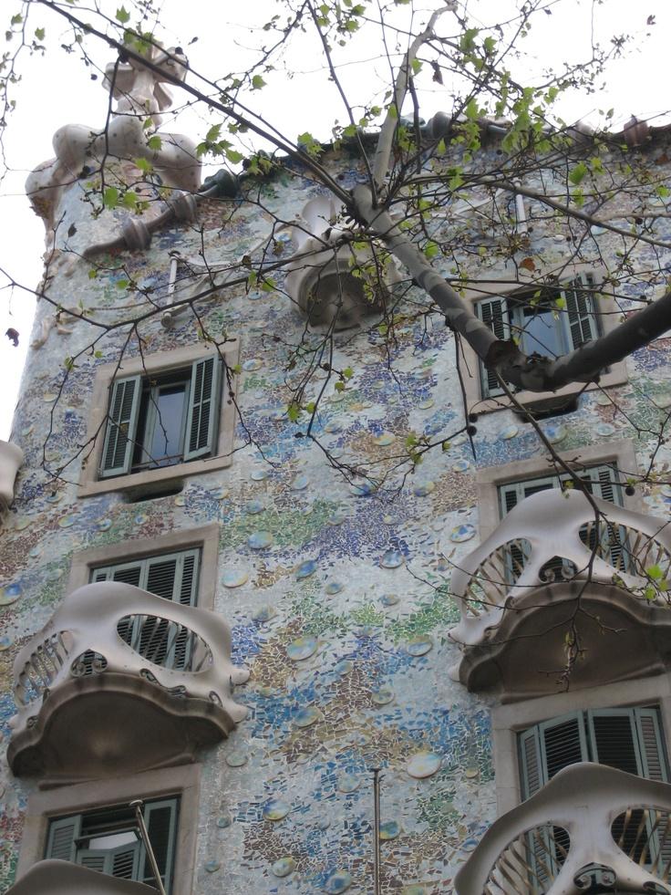 Casa Batllo, Gaudi Barcelona
