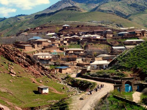 Village close to the Afghanistan
