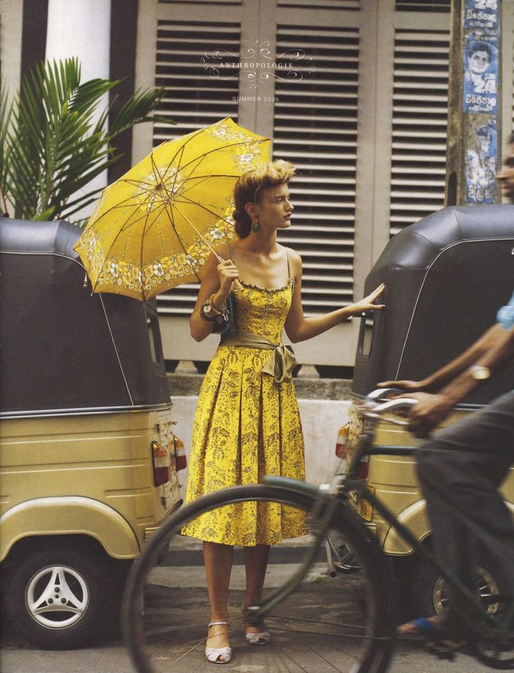 Love this image from the Anthropologie 2006 magazine...