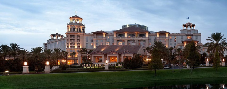 Gaylord Palms Resort & Convention Center  Hotel in Orlando - Kissimmee, Florida.