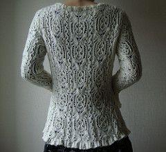Ravelry: # 8 Batik Pullover pattern by Hitomi Shida (志田 ひとみ)