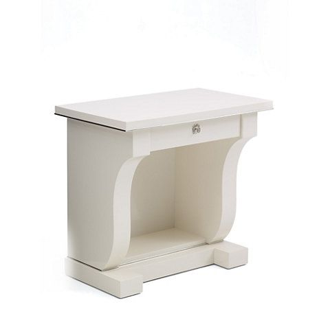 Brook Street Night Stand - Cream - Occasional Tables - Furniture - Products - Ralph Lauren Home - RalphLaurenHome.com