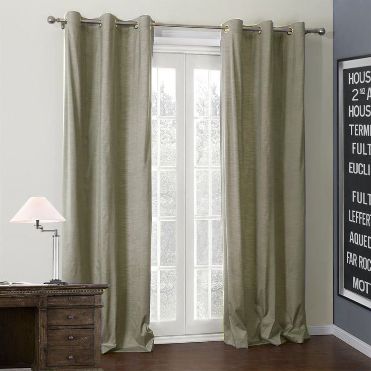 Solid Silver Coating Thermal Curtain  #curtains #homedecor #decor #homeinterior #interior #design #custommade