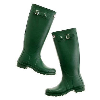 Here they are, the classic green Hunter's!  I've been searching for them!