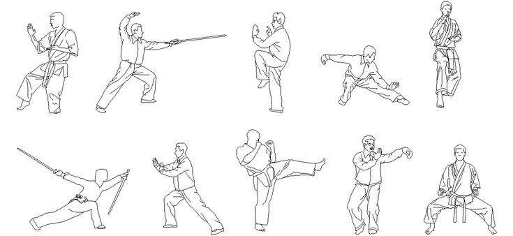 Dwg Adı : Karate yapan insan çizimleri  İndirme Linki : http://www.dwgindir.com/puanli/puanli-2-boyutlu-dwgler/puanli-insan-ve-hayvanlar/karate-yapan-insan-cizimleri.html