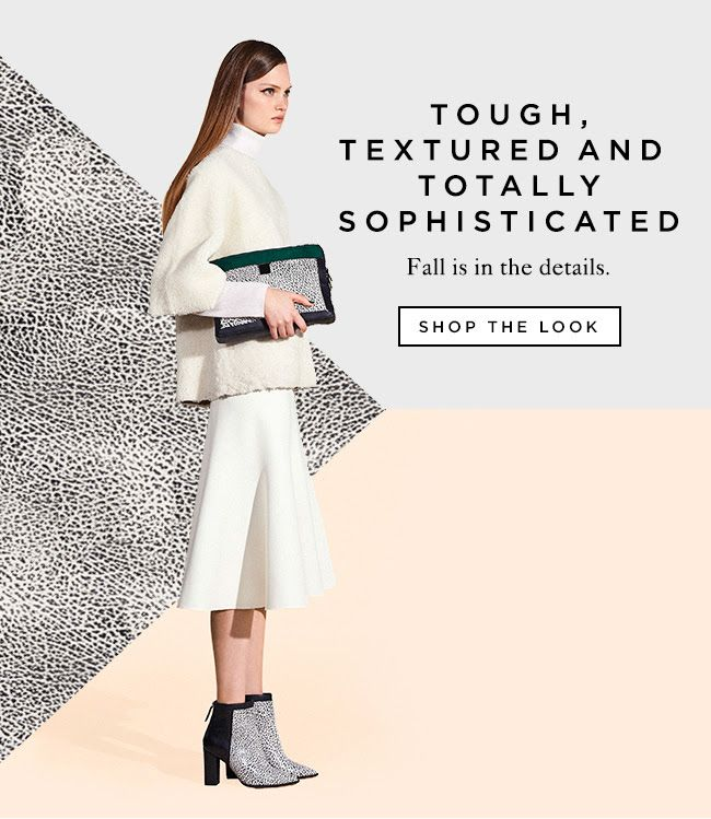 Shop Textured Fall Pieces at The Official Loeffler Randall Online Store LoefflerRandall.com