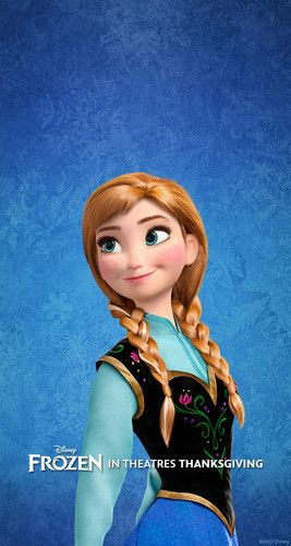 Day 2 of my Disney Challenge- Favourite Princess is Anna from Frozen