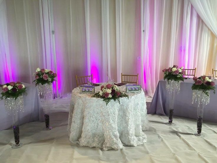 Gorgeous Table Setting For The Bride And Groom! #tabledecor #tableideas # Bride #