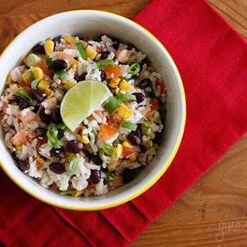 Fiesta Lime Rice!! I think this would be amazing with tilapia...going to try soon, will keep you posted!!