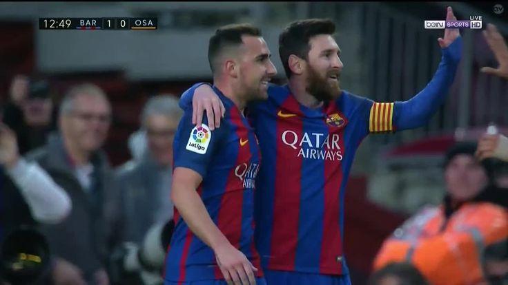 Lionel Messi Goal - Barcelona vs Osasuna - 26 April 2017