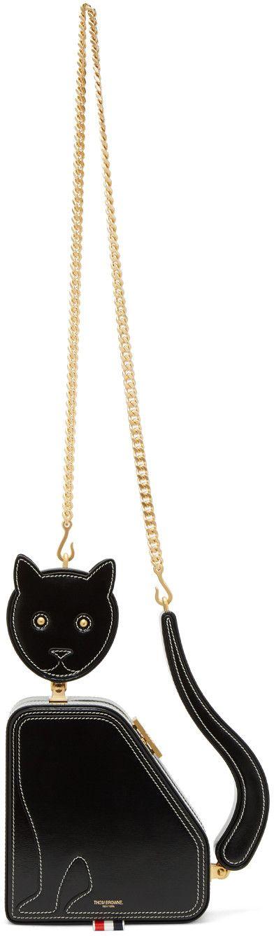 Thom Browne - Black Cat Bag $5200  SSENSE website