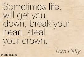 """Some of my favorite lyrics from my all-time favorite Tom Petty and the Heartbreakers song, """"Learning to Fly""""!"""