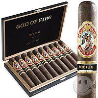 God of Fire Limited Edition Natural 5-Cigar Assortment - Cigars International