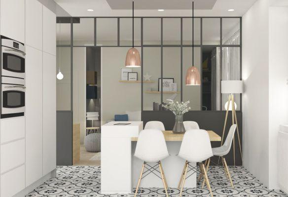 Projet Marion Lanoë, rénovation appartement
