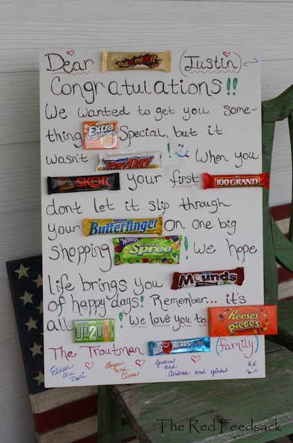 going away candy bar poem | Candy Bar Greeting!