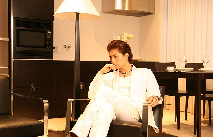 Gackt, when he looks like a proper man.