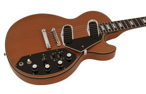Gibson introduced the Les Paul Recording in 1971. The Gibson Les Paul Recording had integral transformers to make the output impedance compatible with normal high impedance amps. Used by Les Paul
