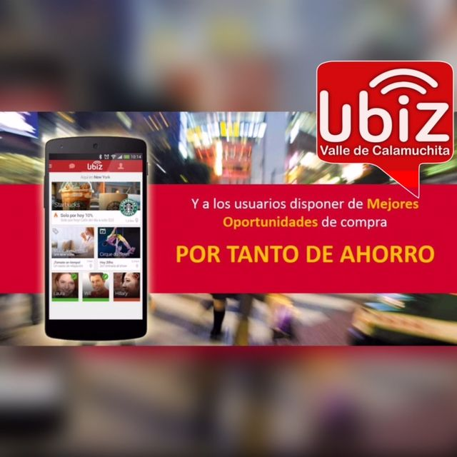 UBIZ CALAMUCHITA #UbizCalamuchita