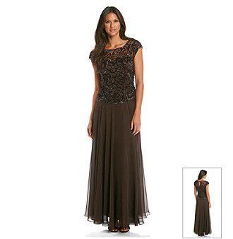 Long formal dresses formal dresses and roses on pinterest for Elder beerman wedding dresses