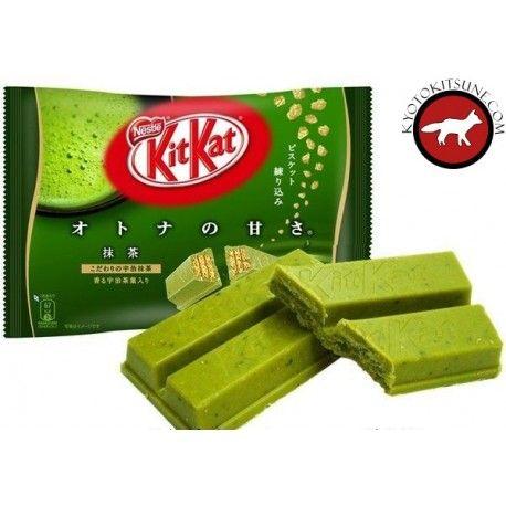 KitKat mini green tea KitKat mini thé vert