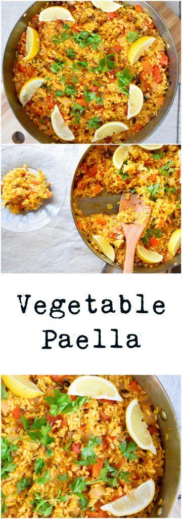 Vegetable Paella   Earth Powered Family