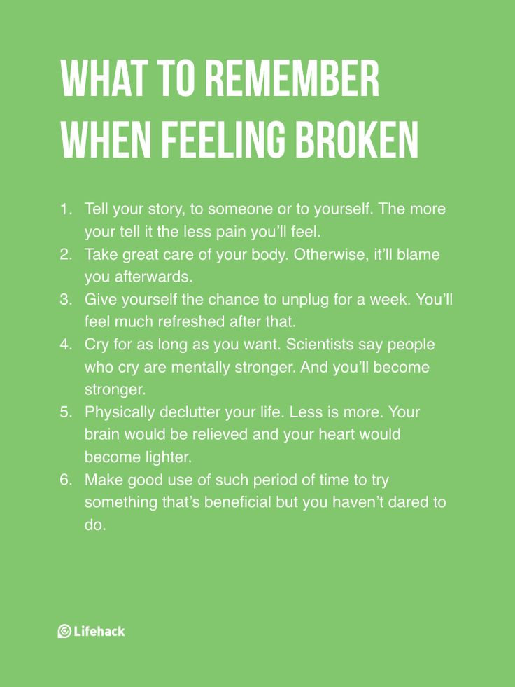 Tell your story. Take care of your body. Unplug...