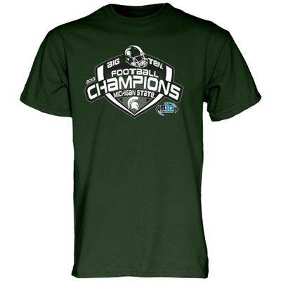 Michigan State Spartans 2013 Big Ten Football Champions Locker Room T-Shirt