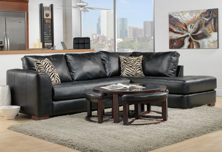 Living Room Furniture-The Naples II Collection-Naples II 2 Pc. Sectional