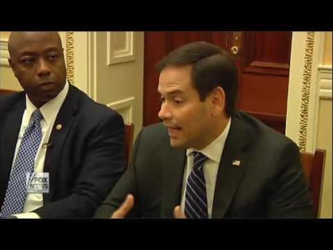 Rubio, Tim Scott discuss curing poverty at Senate Opportunity Coalition ...